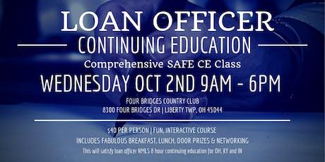 Loan Officer CE  tickets