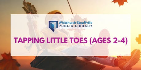 Tapping Little Toes (Ages 2-4) tickets