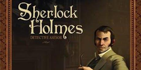 JUEGO DE MESA: SHERLOCK HOLMES DETECTIVE ASESOR entradas