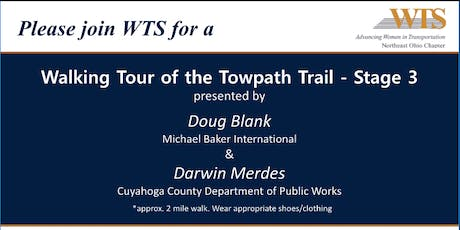 WTS Northeast Ohio Walking Tour of Towpath Trail tickets
