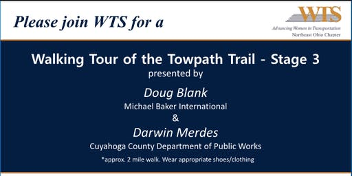 WTS Northeast Ohio Walking Tour of Towpath Trail