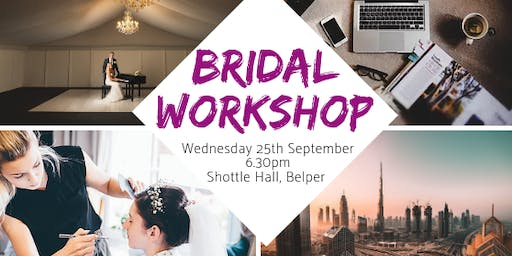 Bridal Workshop at Shottle Hall
