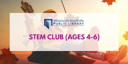 STEM Club (ages 4-6)