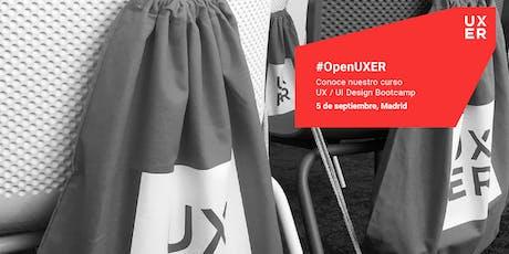 #OpenUXER: UX / UI Design Bootcamp Madrid entradas