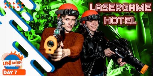 UNIweek Day 7: Lasergame Hotel [Extra Event]