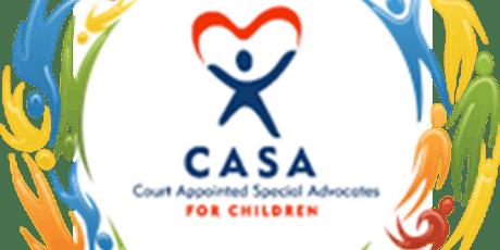 Become a child advocate (CASA) tickets