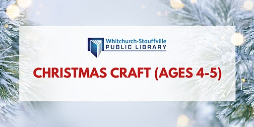 Christmas Craft (ages 4-5)
