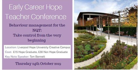 Early Career Hope Teacher Conference tickets