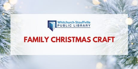 Family Christmas Craft tickets