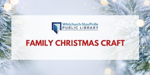 Family Christmas Craft
