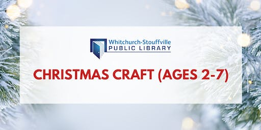 Christmas Craft (ages 2-7)