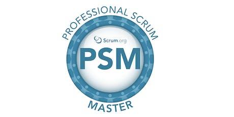 Professional Scrum Master I - SP Outubro ingressos