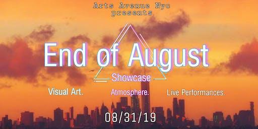 Arts Avenue's End of August Art Show