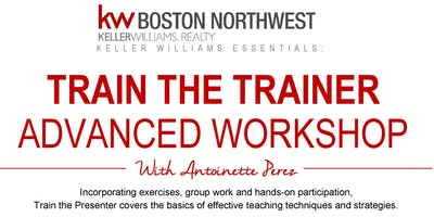 Train The Trainer Advanced Workshop with Antoinette Perez