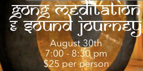Gong Meditation & Sound Healing tickets