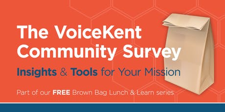 The VoiceKent Community Survey: Insights & Tools for Your Mission tickets