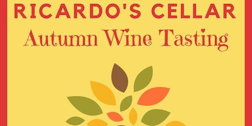 Ricardo's Cellar Autumn Wine Tasting - Single Ticket