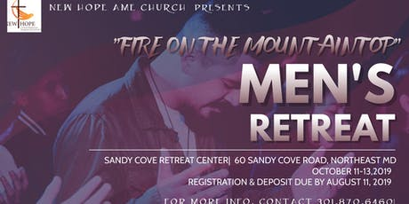 New Hope AME  Men's Retreat tickets