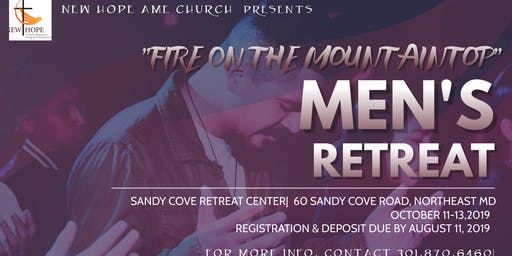 New Hope AME  Men's Retreat