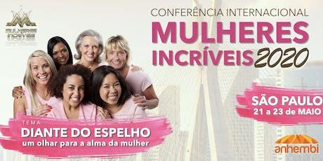 Conferência Mulheres Incríveis 2020 ingressos