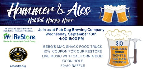 Hammer & Ales Habitat Happy Hour tickets
