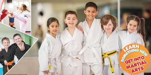 MARTIAL ARTS FOR CHILDREN. GET 1 MONTHS WORTH OF FREE TRY OUT CLASSES AGE  7-12 Years