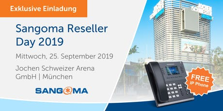 Sangoma Reseller Day 2019 - DACH Tickets