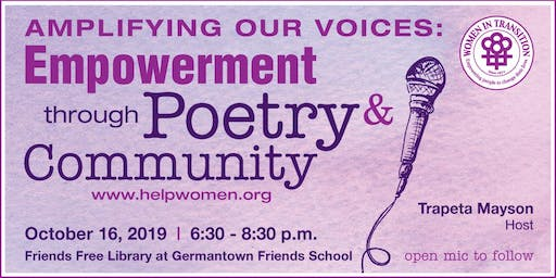 Amplifying Our Voices: Empowerment Through Poetry & Community