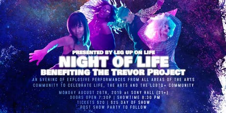 NIGHT OF LIFE benefiting The Trevor Project (21+) tickets