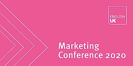 English UK Marketing Conference 2020 - Exhibition & advertising tickets