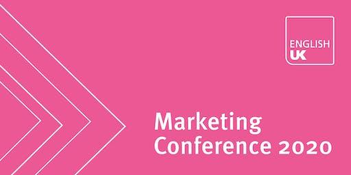 English UK Marketing Conference 2020 - Exhibition & advertising