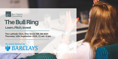 The Bull Ring, an Event Hosted by Barclays High Growth  tickets