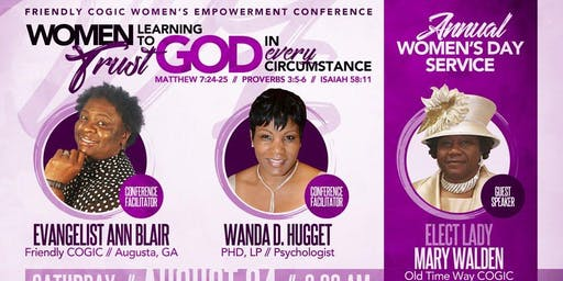 Friendly COGIC Women's Empowerment Conference