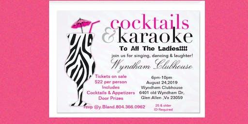 Cocktails & Karaoke Night