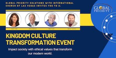 Kingdom Culture Transformation Event
