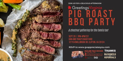 Autumn Pig Roast Bbq Party (and chestnut gathering for the family too!)
