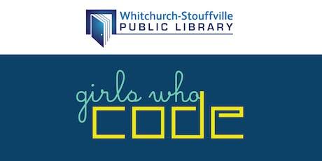 Girls Who Code Club (Grades 6-12) tickets