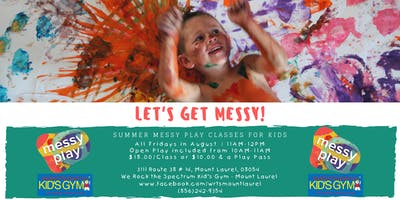 Messy Play Classes