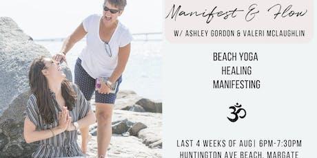 Beach Yoga, Manifest and Flow tickets