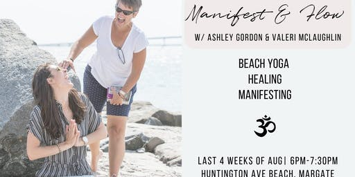 Beach Yoga, Manifest and Flow