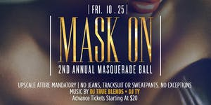"""NYC TOP PROMOTERS: """" MASK ON """" MASQUERADE GALA AT..."""