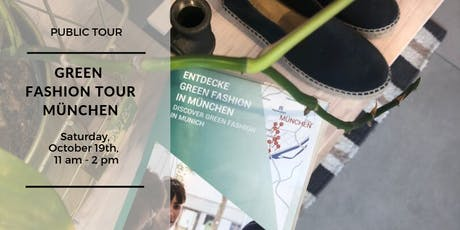 Green Fashion Tour München - Public Tour Oktober tickets