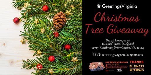Winter Christmas Tree Giveaway