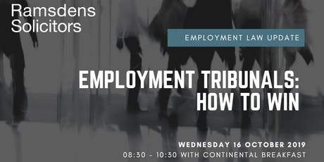 Employment Tribunals: How to Win tickets