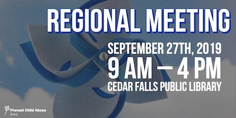 Cedar Falls Regional Meeting tickets