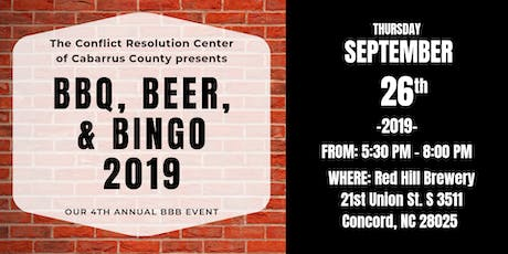 BBQ, BEER, & BINGO 2019 tickets