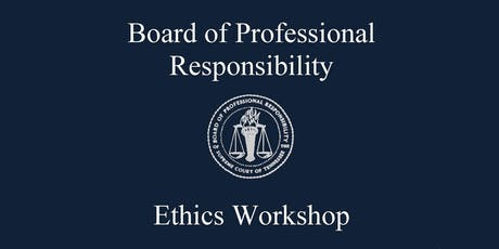 2019 Ethics Workshop tickets