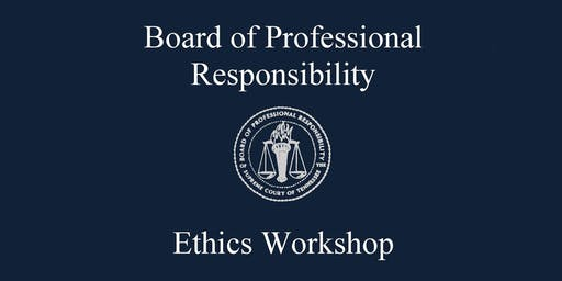 2019 Ethics Workshop