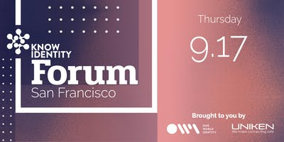KNOW Identity Forum San Francisco: Merchant Risk