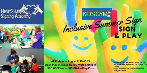 Summer Sign (ASL)and Play